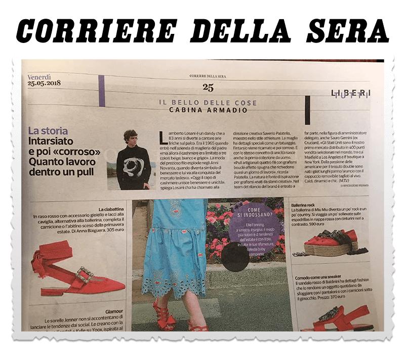 new product 2dc99 edd7a Corriere Della Sera – Liberi Tutti – Lamberto Losani